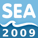 The sea'09 logo
